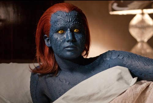 Jennifer Lawrence in X-Men: First Class
