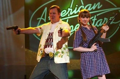 Joel Murray and Tara Lynne Barr in God Bless America