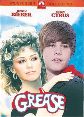 Bieber Cyrus Grease