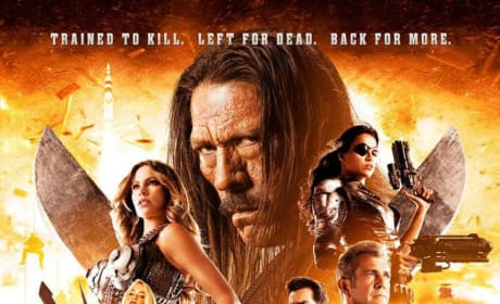 Machete Kills Poster: Left for Dead & Back for More