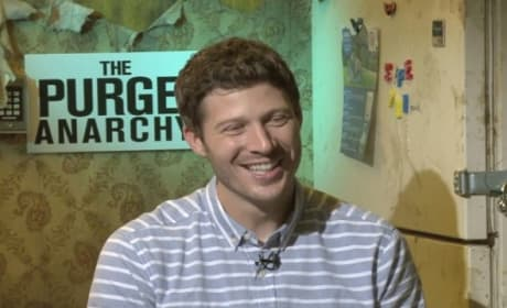 "The Purge Anarchy: Zach Gilford Talks ""Therapeutic"" Movie Making With Wife!"