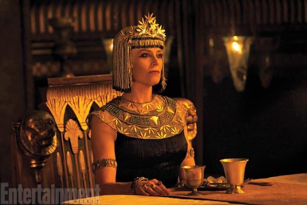 Sigourney Weaver Looks Stoic