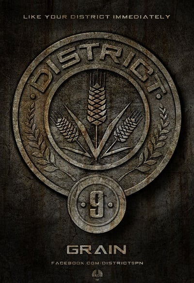 The Hunger Games Badges: Grain