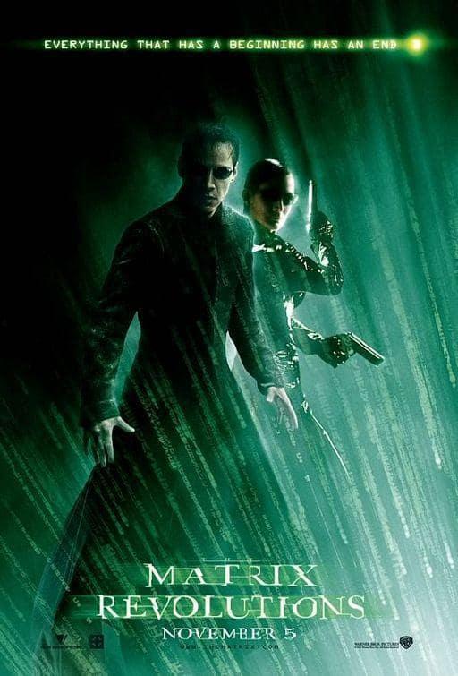 The Matrix Revolutions Movie Poster