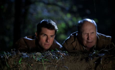 Tom Cruise and Robert Duvall Jack Reacher Still