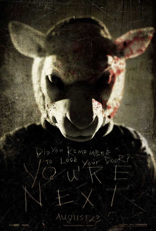 You're Next Sheep Poster