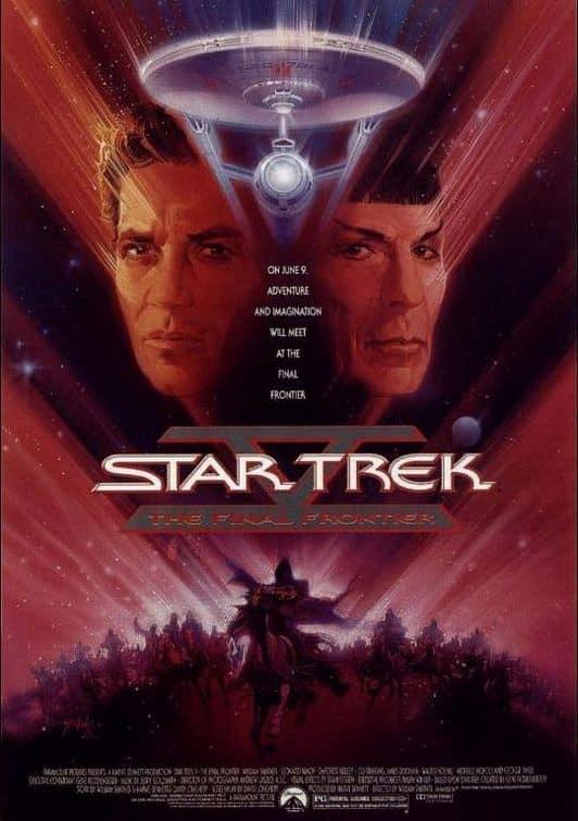 Star Trek V Poster