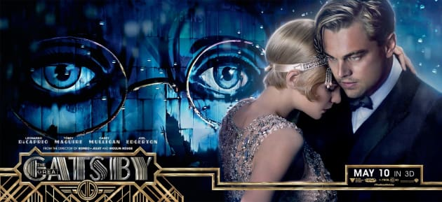 The Great Gatsby Banner Carey Mulligan Leonardo DiCaprio