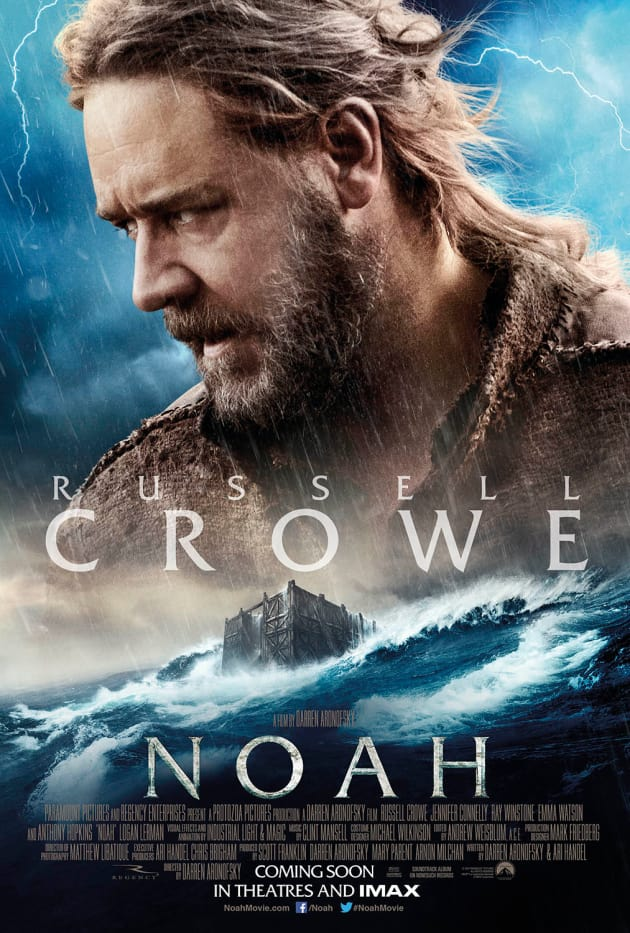 Noah Review: Russell Crowe Brilliantly Builds an Ark ...