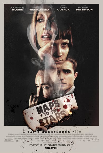 Maps to the Stars Classic Poster