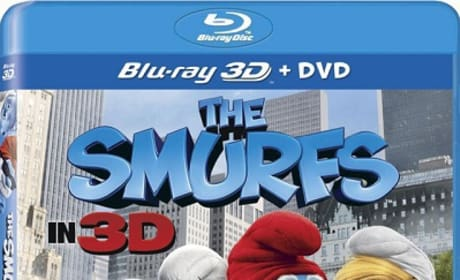 The Smurfs Blu-Ray