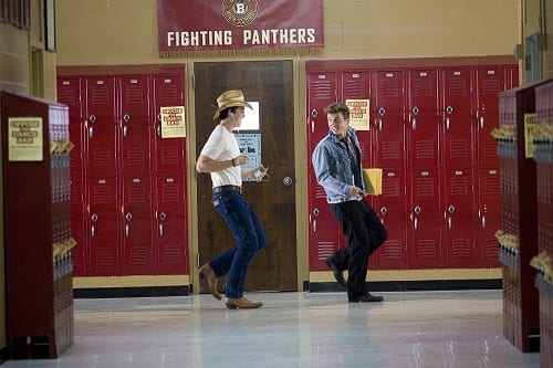 Kenny Wormald and Miles Teller Dance in Footloose