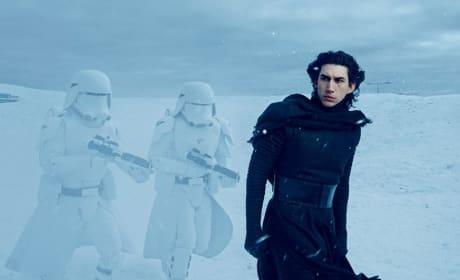 Star Wars the Force Awakens Adam Driver