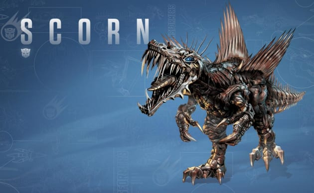 Transformers Age of Extinction Scorn