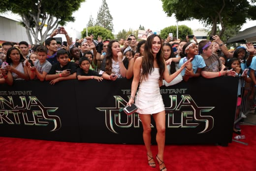 Teenage Mutant Ninja Turtles Premiere Megan Fox