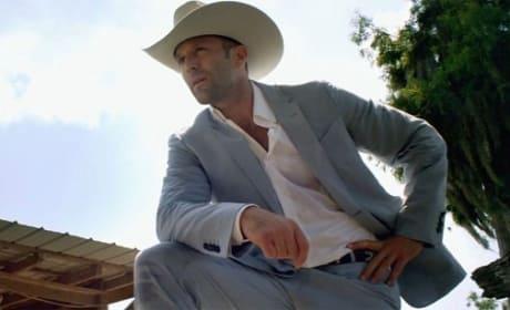 Jason Statham in Parker