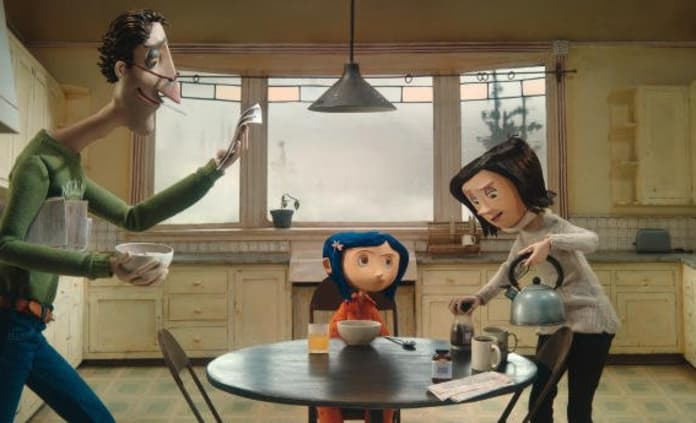 Coraline And Family Movie Fanatic