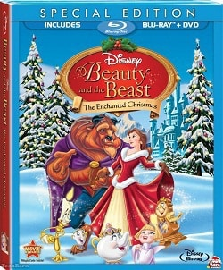 Beauty and the Beast: The Enchanted Christmas Blu-Ray