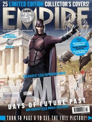 X-Men Days of Future Past Magneto Empire Cover