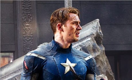 Chris Evans' Captain America in Newest Avengers Pic