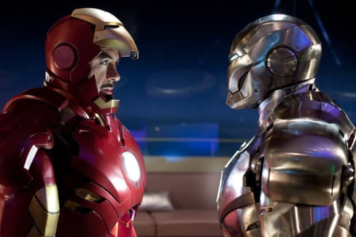 Iron Man and War Machine Ready for Action