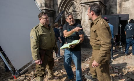 The Monuments Men: George Clooney Directs John Goodman
