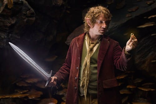 Martin Freeman is Bilbo in The Hobbit An Unexpected Journey