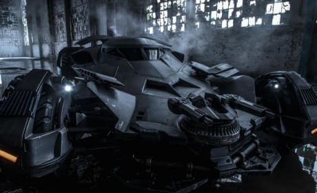 Batman v Superman: Dawn of Justice Batmobile Photo