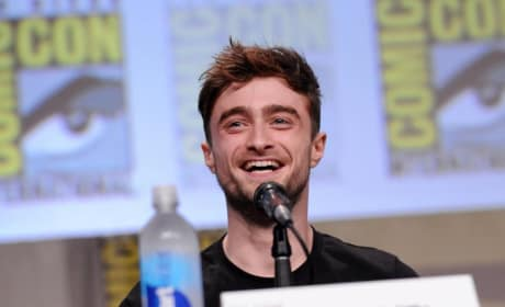 Daniel Radcliffe Comic-Con Horns