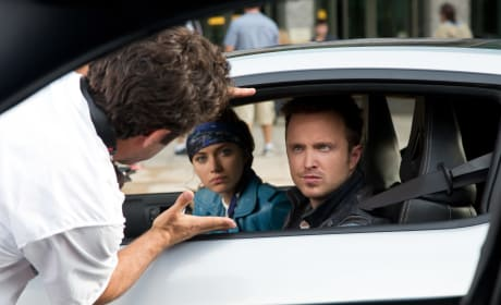 Need for Speed: Aaron Paul Dishes Driving a Dream
