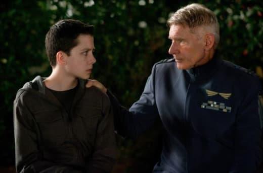 Ender's Game Stars Harrison Ford Asa Butterfield
