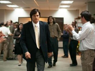 Ashton Kutcher is Steve Jobs