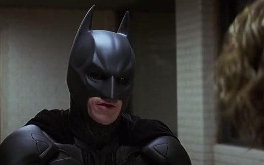 Christian Bale is Batman in The Dark Knight