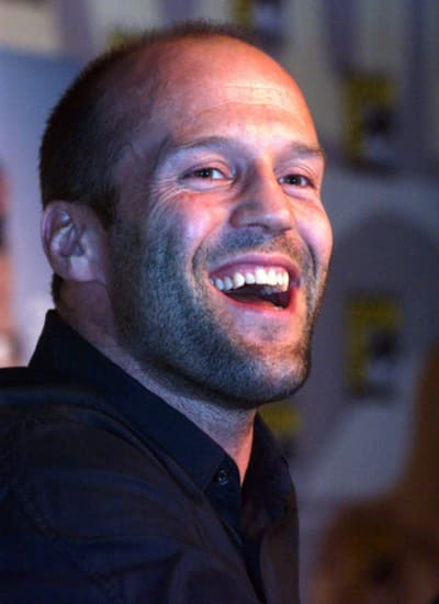 Jason Statham Laughing
