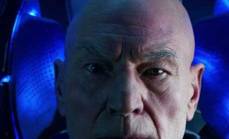 Patrick Stewart Is Professor X