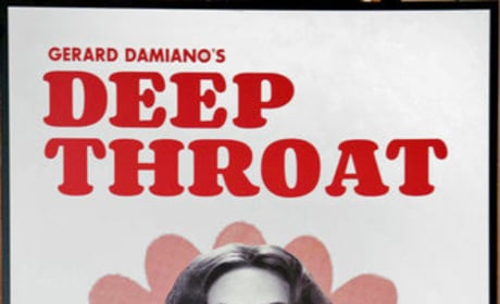 Amanda Seyfried in Deep Throat Poster
