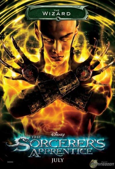 Sorcerer's Apprentice Wizard Poster