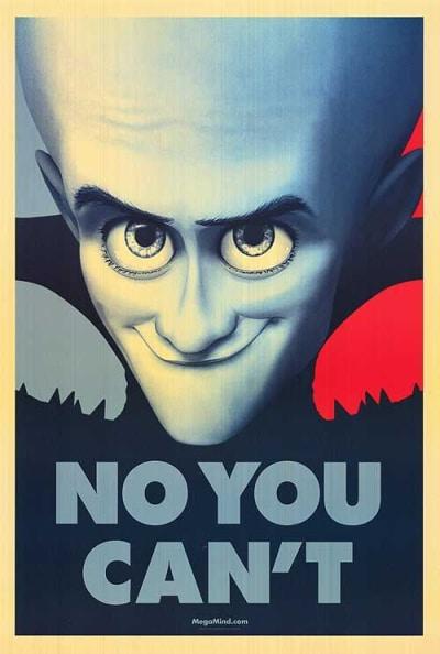Megamind Obama Poster