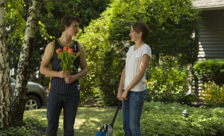 The Fault in Our Stars Features Ansel Elgort Shailene Woodley