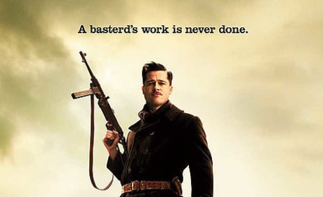Brad Pitt Featured on New Inglourious Basterds Poster