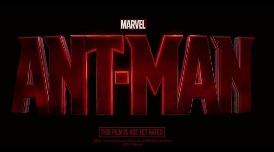 Ant-Man Teaser Logo