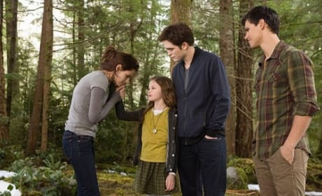 Kristen Stewart, Robert Pattinson and Taylor Lautner Breaking Dawn Part 2