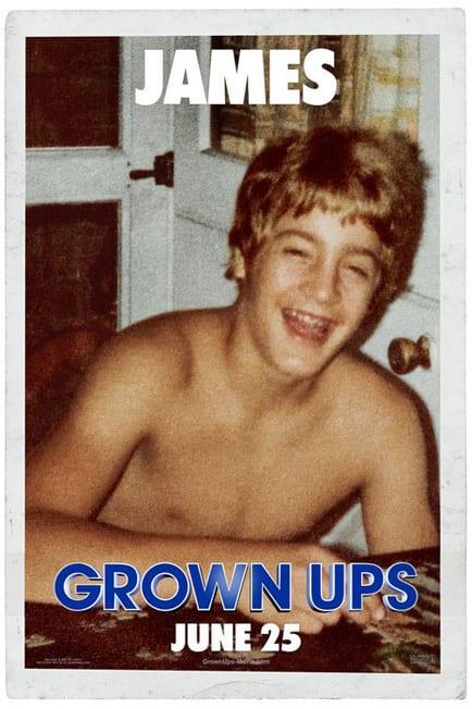 Grown Ups Kevin James Kid Poster
