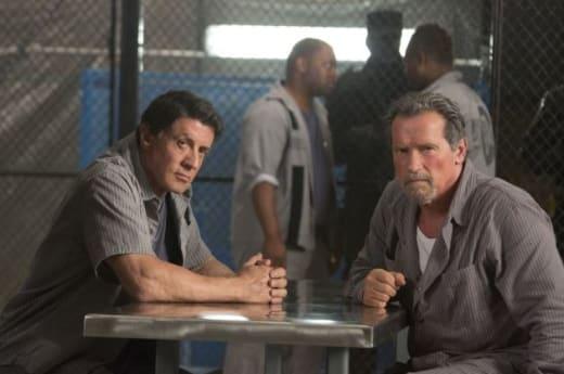 Escape Plan Sylvester Stallone Arnold Schwarzenegger