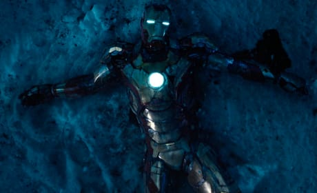 Iron Man 3 Snow Still