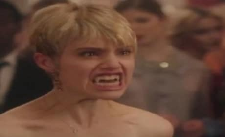 Vampire Academy Clip: The Fangs Come Out!