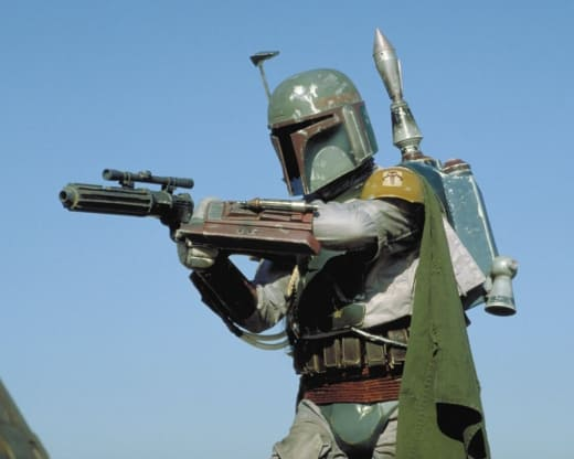 Boba Fett Return of the Jedi