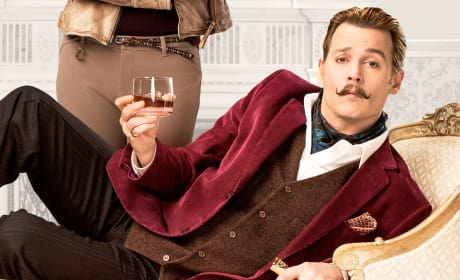 Johnny Depp Stars Mortdecai