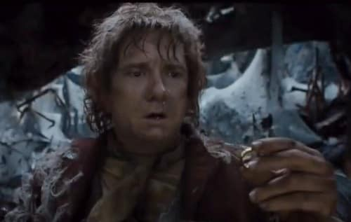 Bilbo Baggins in The Hobbit The Desolation of Smaug