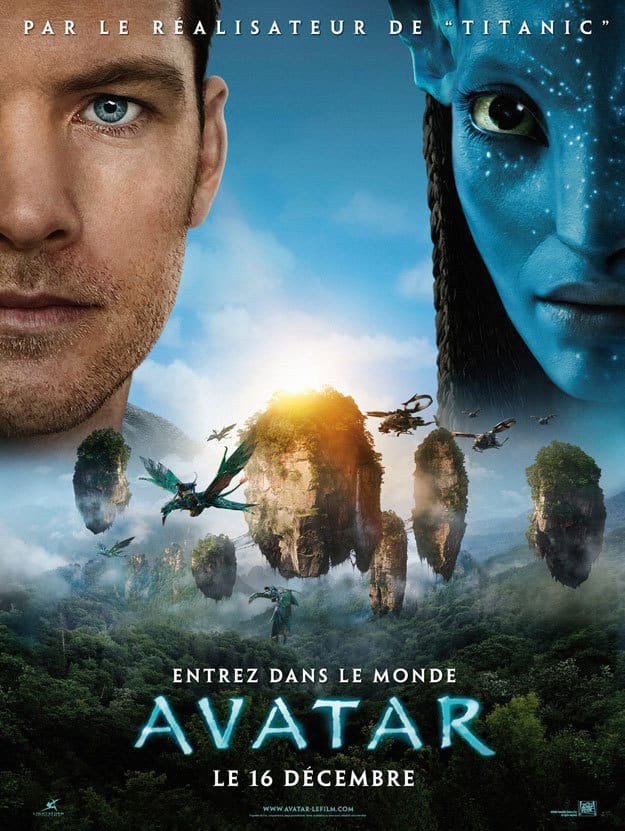 French Avatar Poster